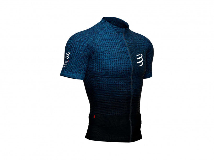 COMPRESSPORT TRAIL POSTURAL SS TOP - BLUE (AM00001B-990)