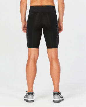 2XU Women's MCS Bonded Mid Rise Compression Short WA4531B