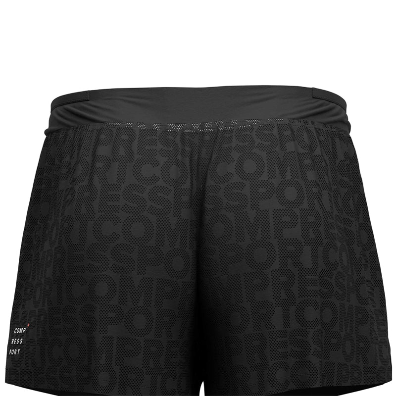 COMPRESSPORT RACING SPLIT SHORT BLACK - AM00019B_990