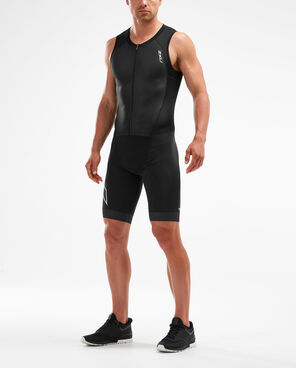 2XU Men's Compression Full Zip Trisuit MT5517D