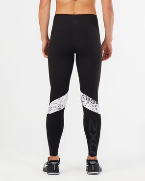2XU Women's Plyometric Splice Tights-WR4572B (BLK/WSP)