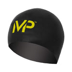 Aqua Sphere Michael Phelps Race Swim Cap - Black/Yellow