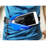 KPS RUNNING WAIST BELT WITH BIB HOLDER - BLUE