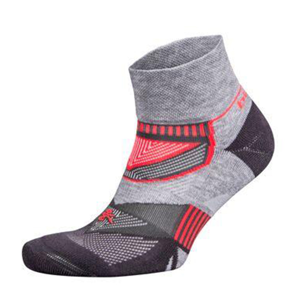 Balega Enduro V tech Quarter Socks - Mid Grey/Carbon