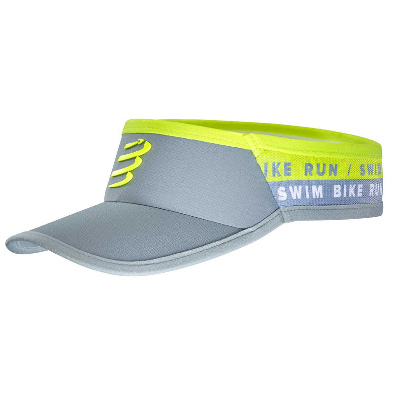 COMPRESSPORT VISOR ULTRALIGHT - BORN TO SWIMBIKERUN 2020 (CU00032L_100_0TU)