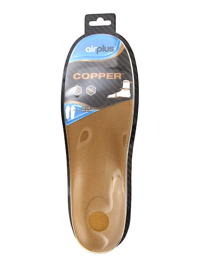 AirPlus Men's Copper Insoles