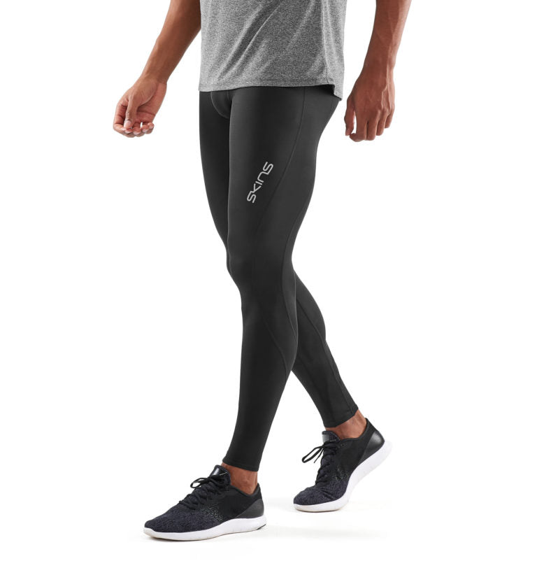 PREORDER - SKINS COMPRESSION DNAMIC MENS LONG TIGHTS BLACK/SILVER