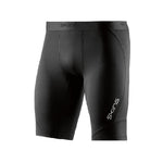 SKINS COMPRESSION DNAMIC MENS 1/2 TIGHTS BLACK/SILVER