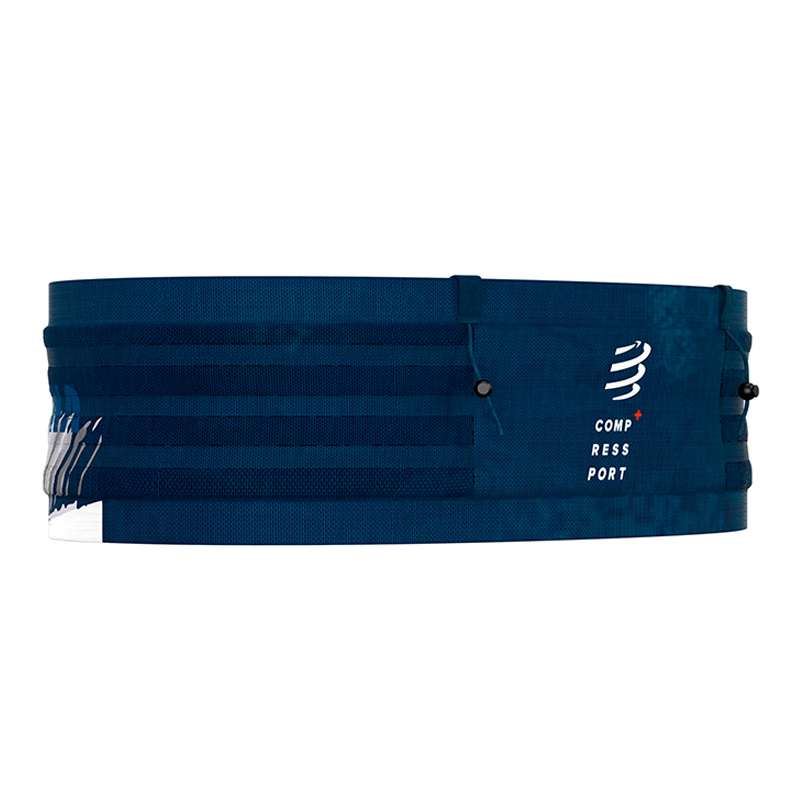 COMPRESSPORT FREE BELT PRO ANTI-BOUNCE KONA SERIES - BLUE