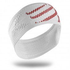 COMPRESSPORT ON/OFF HEADBAND - WHITE (HB02-0000)