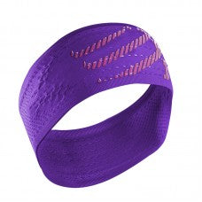 COMPRESSPORT ON/OFF HEADBAND - PURPLE (HB4013)