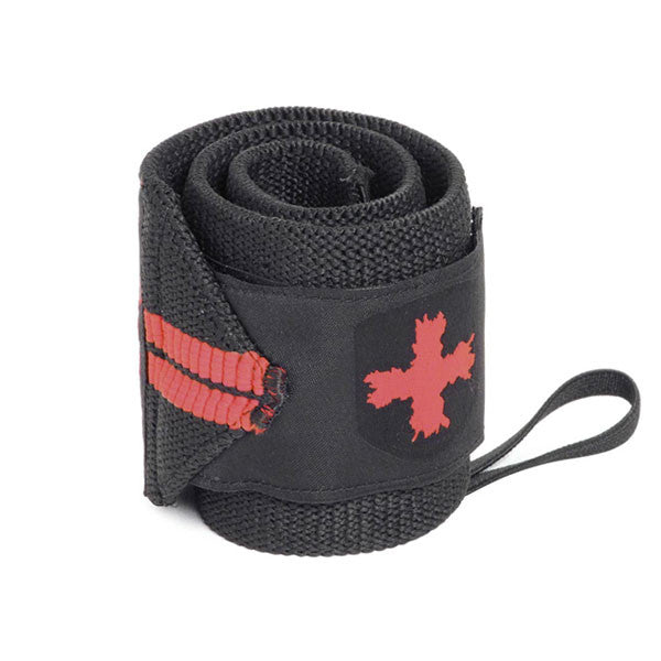 Harbinger Red Line Thumb Loop Wrist Wraps 18""