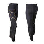2XU Men's Elite MCS Compression Tights MA3062B - Black Gold