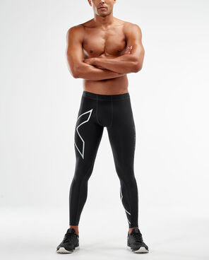2XU Men's Compression Tights -MA3849b (BLK/SIL)