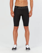 2XU Men's ACCELERATE COMPRESSION SHORTS - MA4478B (BLK/NRO)