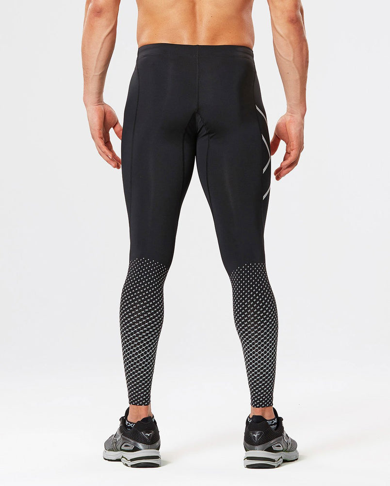 2XU Men's REFLECT COMPRESSION TIGHTS MA4610B