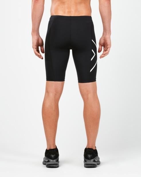 2XU MEN'S ICE X COMPRESSION SHORTS MA4890B BLK/MWT