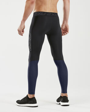 2XU Men's Accelerate Compression Tights with Storage : MA5371B