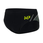 Michael Phelps Manu Brief - Black/Grey (SM 259 0110)