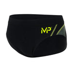 Michael Phelps Manu Brief - Black/Bright Green (SM 259 0131)