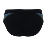 Michael Phelps Manu Brief - Black/Royal Blue (SM 259 0142)