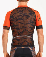 2XU Men's Sub Cycle Jersey- MC4908A (TGT/BLK)