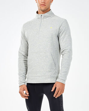 2XU Men's Urban 1/4 Zip Top- MR5112A (NLG/NLG)