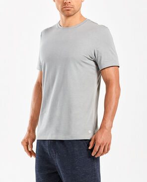 2XU Men's Urban Origins Short Sleeve Top- MR5114A (NLG/NLG)