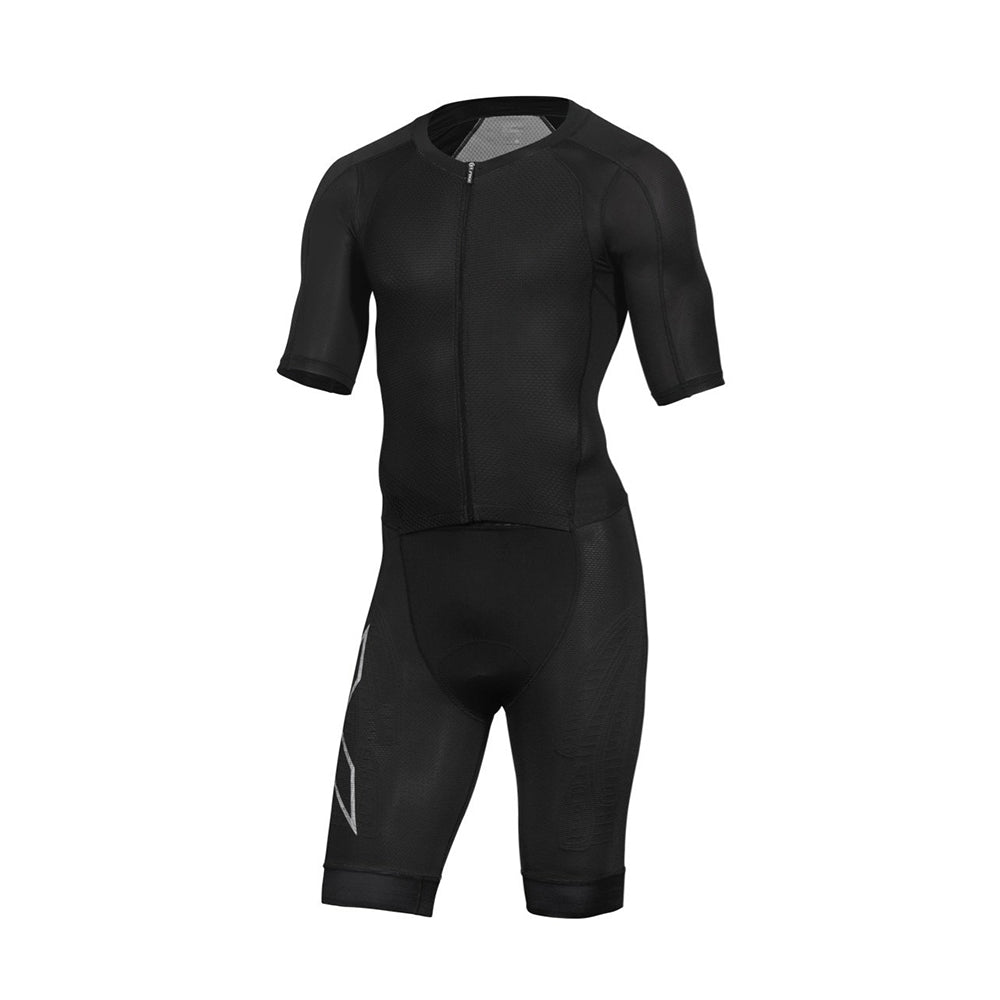 2XU Men's Compression Full Zip Sleeved Trisuit : MT5516D
