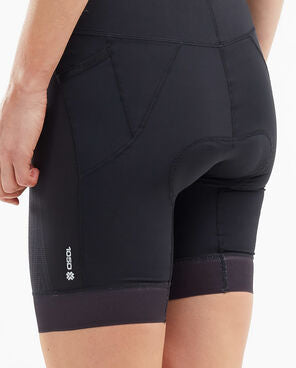 2XU Women's Compression Tri Short-WT5524B (BLK/BLK)
