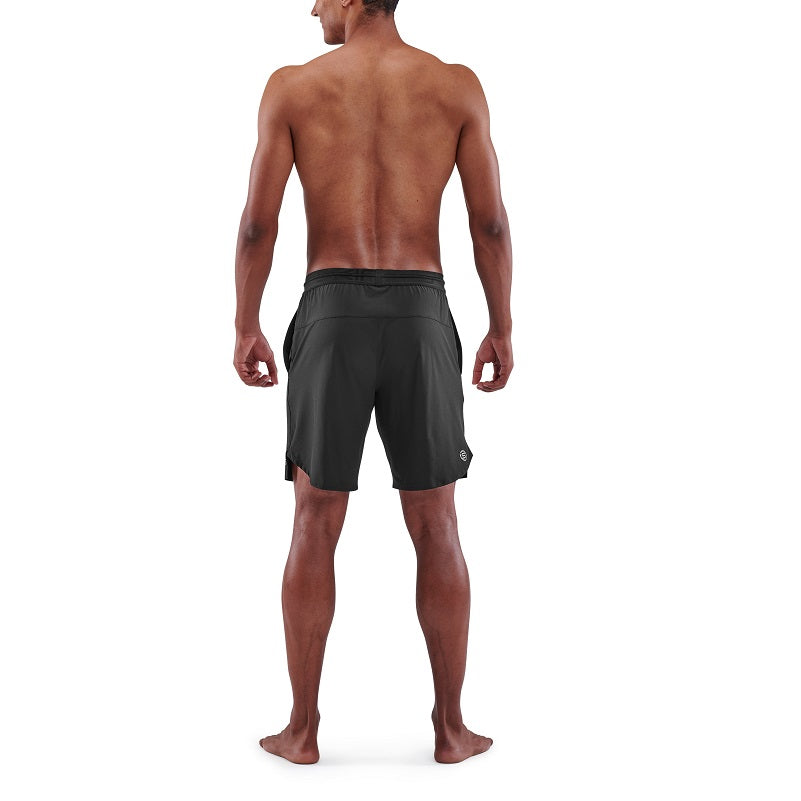 SKINS Men's Activewear X-Fit Shorts 3-Series - Black