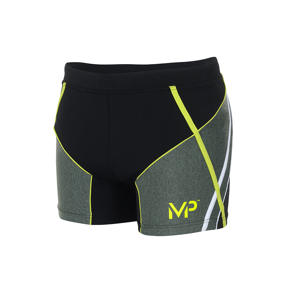 Michael Phelps Swift Trunk - Black/Bright Green (SM 253 0131)