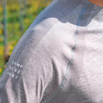 COMPRESSPORT TRAINING TSHIRT LS - GREY MELANGE (TSTN-LS)