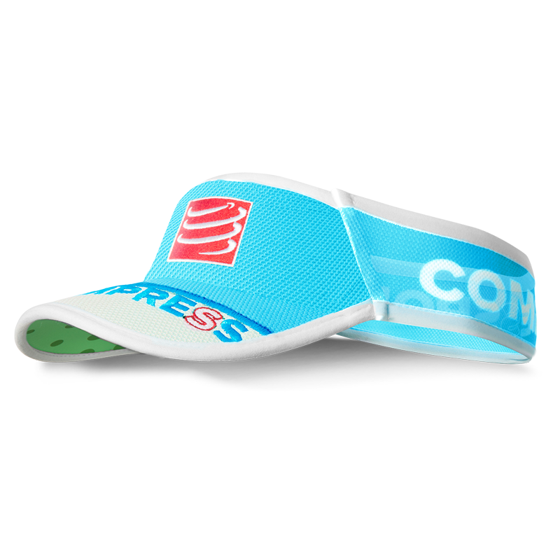 COMPRESSPORT ULTRALIGHT VISOR - FLUO BLUE