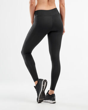 2XU Women's Mid-Rise Compression Tight -WA2864B (BLK/DBK)