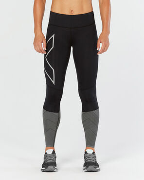 2XU WOMEN'S MID-RISE REFLECT COMPRESSION TIGHTS : WA4609b