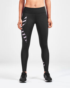 2XU Women's Bonded Mid-Rise Tights : WA4880B