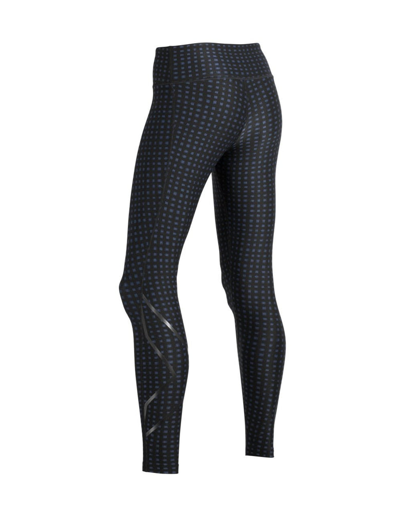 2XU Women's Print Mid-Rise Compression Tights-WA5378B (OUG/NRO)
