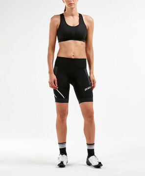 2XU Women's Steel X Compression Cycle Shorts : WC4923B