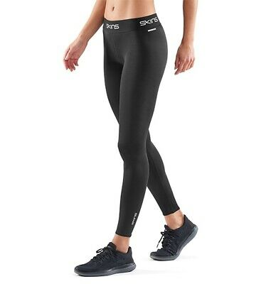 SKINS COMPRESSION DNAMIC FORCE WOMENS LONG TIGHT BLACK