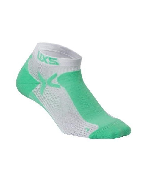 2XU WOMEN'S PERFORMANCE LOW RISE SOCK-WQ1904E (SEA/WHT)