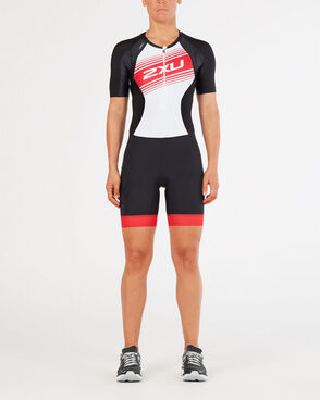 2XU Women's Compression Sleeved Trisuit : WT4843D