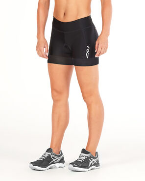2XU Women's Performance Tri 4.5inch Short-WT4860B (BLK/BLK)