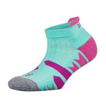 Balega Women's Enduro No Show Running Socks - Light Aqua/Midgrey