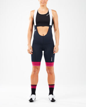 2XU Women's Elite Cycle Bib Shorts-WC5427B (MMB/VTP)