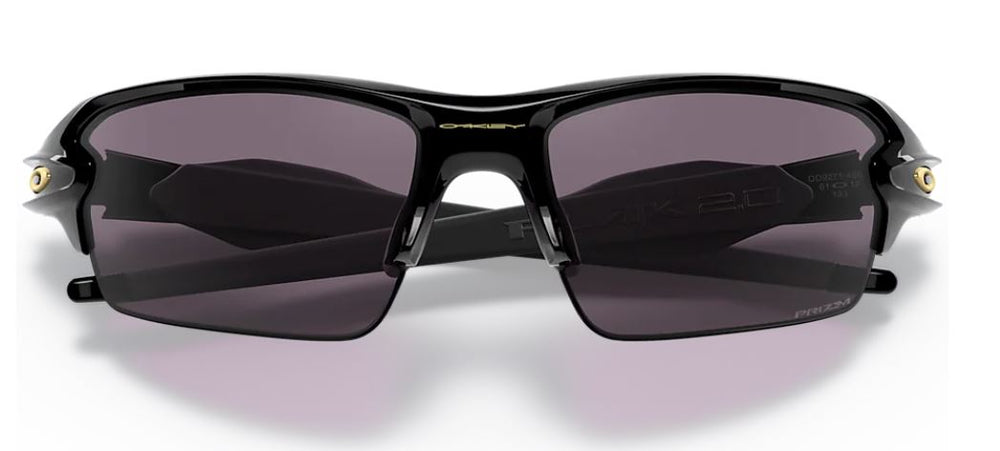 Oakley Flak 2.0 (A) Polished Black W/Prizm Grey - PT