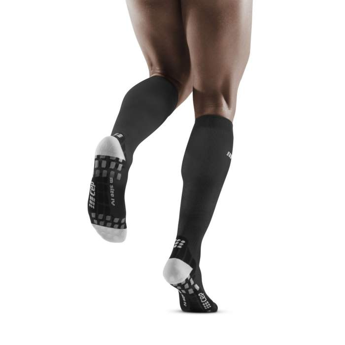 CEP Men's Ultralight PRO Socks - Black/Light Grey