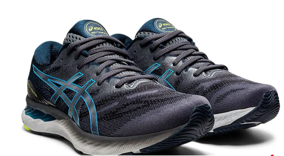 Asics Men's Gel-Nimbus 23 - Carrier Grey/Digital Aqua