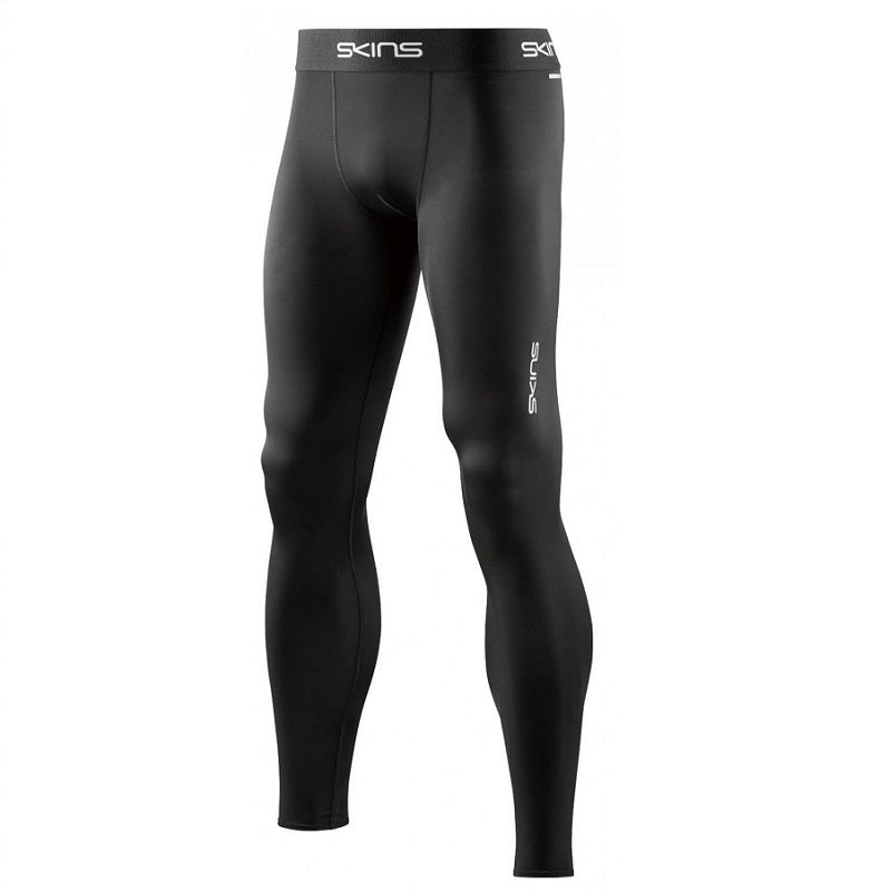 SKINS COMPRESSION DNAMIC FORCE MENS LONG TIGHT BLACK