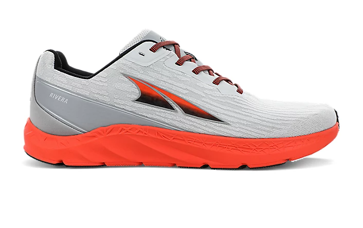 ALTRA MEN'S RIVERA - GRAY/ORANGE